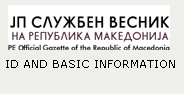 ID AND BASIC INFORMATION